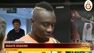 Mbaye Diagne'nin Antalyaspor karşılaşması sonrasnda yaptığı açıklamalar #GSvANT