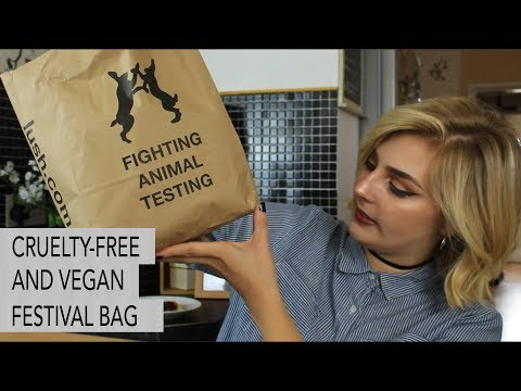 CRUELTY-FREE AND VEGAN FESTIVAL BEAUTY BAG // LUSH, SUPERDRUG, YES TO, SAINSBURY'S, ETC