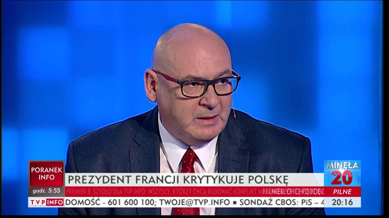 Macron atakuje Polskę – Minęła dwudziesta
