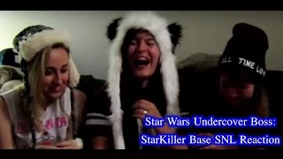 Star Wars Undercover Boss: StarKiller Base SNL Reaction