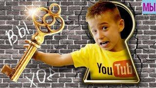 Видео Прикол Побег из Школы в Игре Escape Room Роблокс Квест Яркая Мультяшная Игра Для Детей