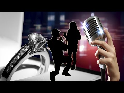 Karaoke Marriage Proposal