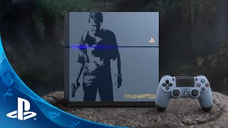 The Limited Edition Uncharted 4 PlayStation 4 Bundle(https://www.playstation.com/en-us/explore/ps4/systems/limited-edition-uncharted-4-ps4-bundle/ Coming April 26th, 2016. Learn More: ..., 2016-02-04T14:00:01.000Z)