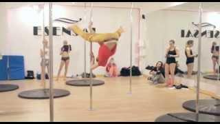 Dimitry Politov and Olga Koda - Workshops in ESENSAI Pole Dance Studio POLAND