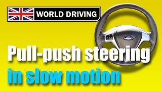 How To Steer A Cąr Safely - Pull Push Steering - Learning To Drive