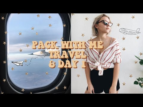 Pack With Me + Travel To Croatia & Day 1 In Croatia!