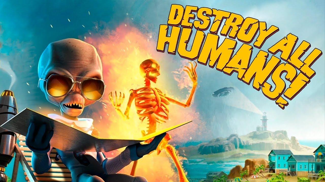 Download Как поработить человечество ►1 Прохождение Destroy all humans!