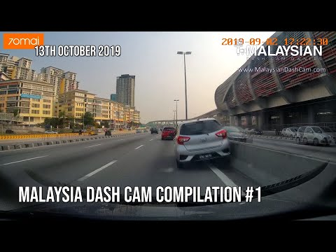 Malaysia Dash Cam Short Video Compilation #1 | Malaysian Dash Cam Owners