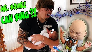 MAN SNEAKS IN NEIGHBORS HOUSE TO SING LULLABY TO BABY! DRIVES BOYS CAR?! DINGLE HOPPERZ SKIT!