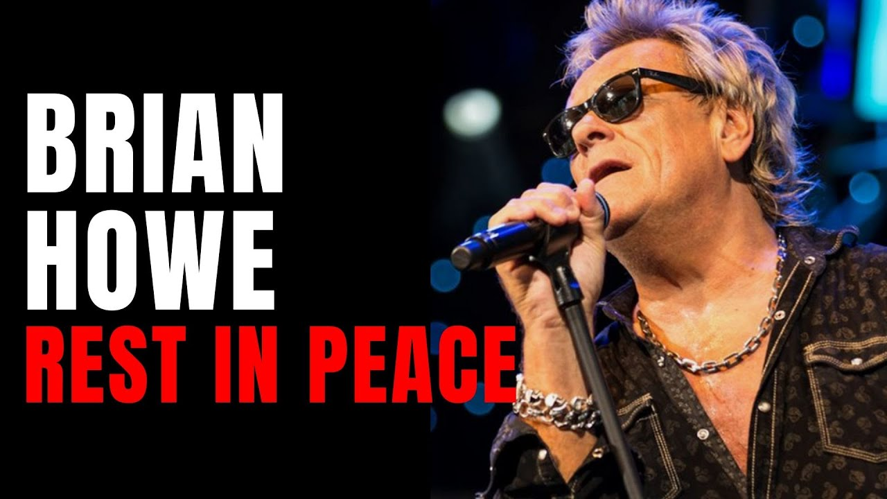 Former Bad Company singer Brian Howe, dead at 66 of a heart attack