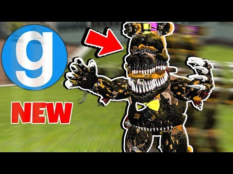 FNAF 4 ULTIMATE ANIMATRONIC FUSION! Garry's Mod Five Nights at Freddy's Gmod Funny Moments