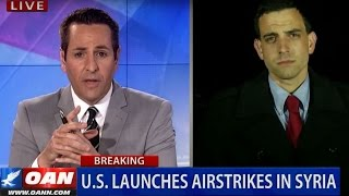 US Warships Strike Syrian Airbase