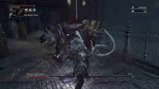 NG+ Gascoigne vs. Kos Parasite SL125 Arcane/Strength Build - Bloodborne