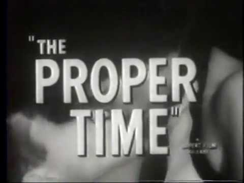 The Proper Time  1962 Tom Laughlin movie