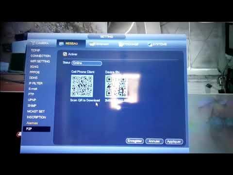 ربط الكاميرات مع Dvr Dahwa وطريقة تشغيلها على الهاتف