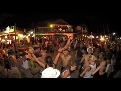 Best Beach Party In The World Full Moon Koh Phangan Thailand