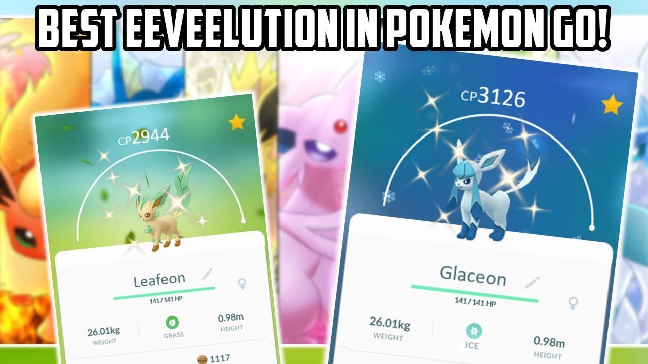 Best Eevee Evolution Pokemon Go 2020.The Best Eeveelution In Pokemon Go