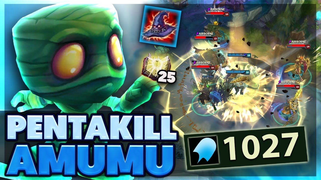 PERFECT WOMBO COMBO TEAM | RP WINNERS | AMUMU PENTAKILL | FULL AP AMUMU  SUPPORT | BunnyFuFuu