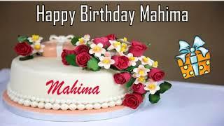 Happy Birthday Mahima Image Wishes✔