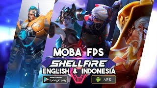 SHELLFIRE MOBA FPS Gameplay Android - Overwatch style mobile game