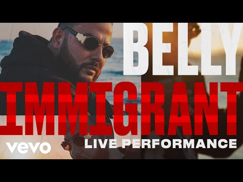 "Belly Performs ""Immigrant"" Acapella"