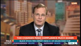Oliver Hartwich discusses pre-Budget tax changes on The Paul Henry Show