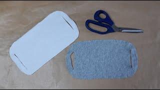 Mascara de proteção de camiseta velha sem costura