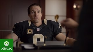 NFL on Xbox: Fantasy Job Interview with Drew Brees