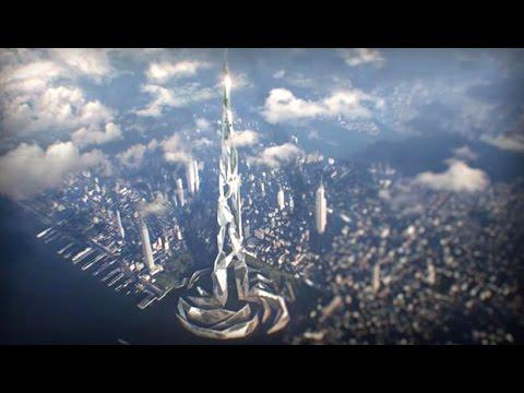 Así es el rascacielos del futuro 5 kms de altura en impresión 3D