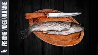 Как почистить рыбу от чешуи и не испачкать кухню?! HD