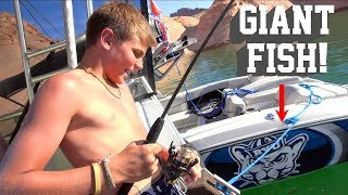 Who Can Catch the BIGGEST FISH in 30 Mins?!