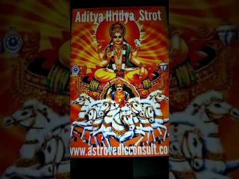 Aditya Hriday Strot with meaning in Hindi