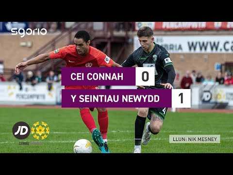 Connahs Q. TNS Goals And Highlights