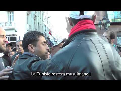 Nadia El Fani critique à sa manière la nouvelle constitution tunisienne, notamment sa