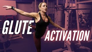 Glute Activation Exercises | Monica Brant and Coach Crystal