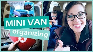 MINI VAN BUDGET FRIENDLY ORGANIZING & CLEANING HACKS