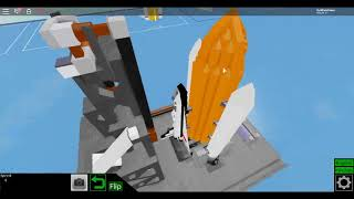ROBLOX Plane Crazy -- Space Shuttle Demonstration