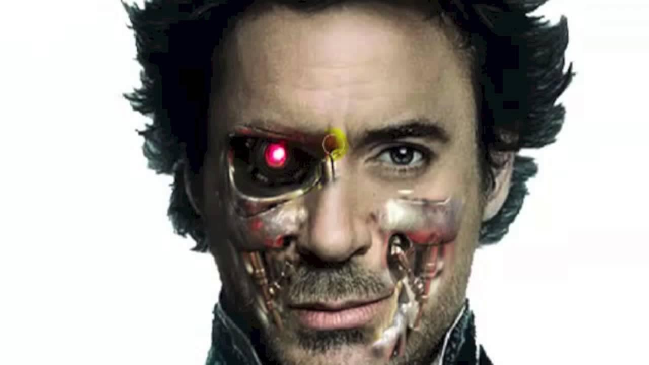 Photoshop CS6 tutorial: Face/Cyborg - YouTube