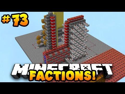 "Minecraft FACTIONS VERSUS ""FULLY AUTO-CANNON RAID!"" #73 w/ PrestonPlayz"