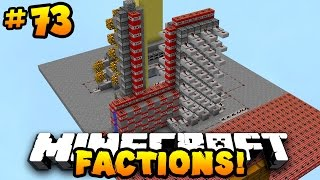 "Minecraft FACTIONS VERSUS ""FULLY AUTO-CANNON RAID!"" #73 w/ PrestonPlayz"