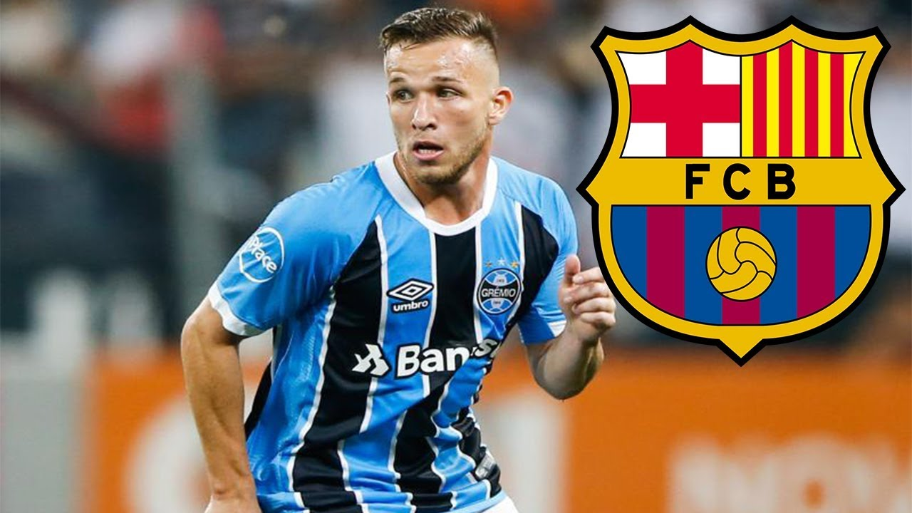 660812517 Arthur ○ Welcome to Barcelona ○ Dribbling Skills Tackles   Passes ...