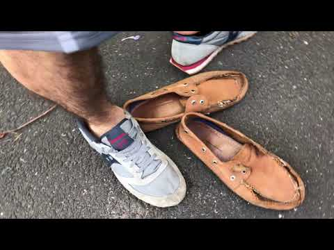Morning Sneaker Show Nike Saucony Globe Sperry Shoes-2