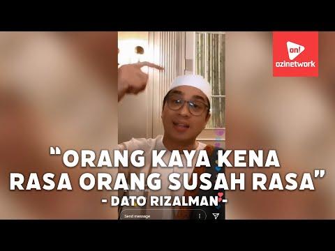 Dato Rizalman Sound Setepek Golongan Artis Dan T20 Mohon Bantuan Khusus