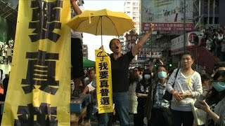 Hong Kong authorities continue democracy protest clearance