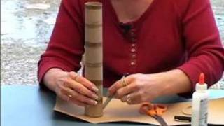 How to Make a Rain Stick : How to Seal the Ends of a Rain stick