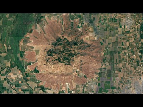 The Ancient Volcano in California; Sutter Buttes