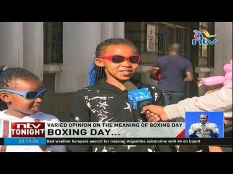Kenyans share their varied opinion on the meaning of Boxing Day