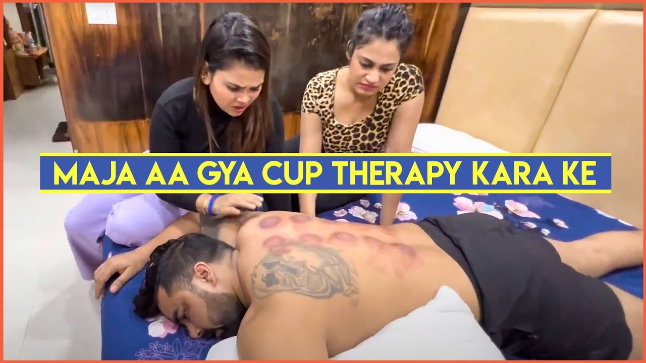 Maja aa gya cup therapy kara ke   Armaan Malik