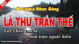 Karaoke Lá Thư Trần Thế