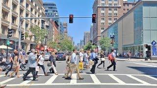 Driving Downtown - Boston